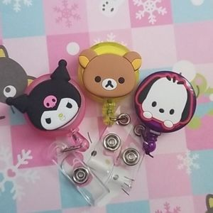 Like new sanrio badge clips